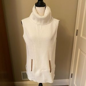 Tommy Hilfiger Sleeveless Knit Turtleneck